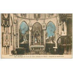 carte postale ancienne 72 LE MANS. Chapelle Basilique N.D du Chêne