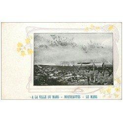 72 LE MANS. Guerre. Tableau Le Rêve par Détaille au Louvre. Publicité Nouveautéa Malvaut A la Ville du Mans