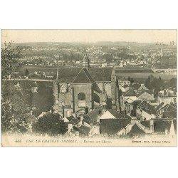 carte postale ancienne 02 ESSOMES-SUR-MARNE. La Ville 1918