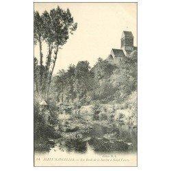 carte postale ancienne 72 SAINT-CENERI. Bords de la Sarthe