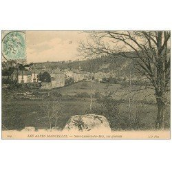 carte postale ancienne 72 SAINT-LEONARD-DES-BOIS. 1906