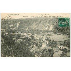 carte postale ancienne 72 SAINT-LEONARD-DES-BOIS. 1910