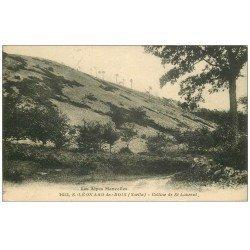 carte postale ancienne 72 SAINT-LEONARD-DES-BOIS. Colline Saint-Laurent