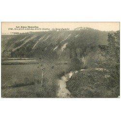 carte postale ancienne 72 SAINT-LEONARD-DES-BOIS. Le Haut-Fourché