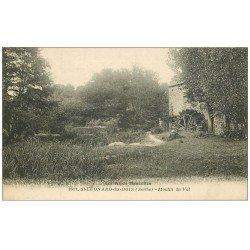 carte postale ancienne 72 SAINT-LEONARD-DES-BOIS. Moulin du Val