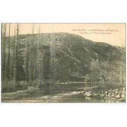carte postale ancienne 72 SAINT-LEONARD-DES-BOIS. Narbonne Puits des Sarrazins