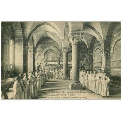 72 SOLESMES. La Manécanterie 1939 Petits Chanteurs Croix de Bois 91 rue Lecourbe à Paris. Colonie de Vacances