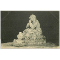 carte postale ancienne 72 SOLESMES. Madeleine Tombeau du Christ 6