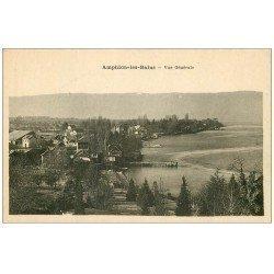 carte postale ancienne 74 AMPHION-LES-BAINS. Vue générale