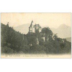 carte postale ancienne 74 ANNECY. Château Menthon-Saint-Bernard 1908
