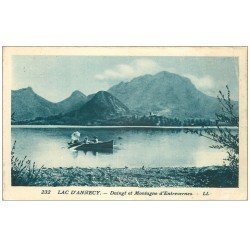 carte postale ancienne 74 ANNECY. Duingt Montagne d'Entrevernes
