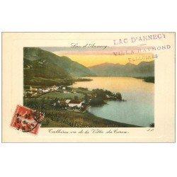 carte postale ancienne 74 ANNECY. Talloires vu Villa du Coron 1912