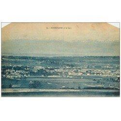 carte postale ancienne 74 ANNEMASSE. Le Jura 1921