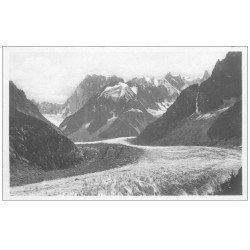 carte postale ancienne 74 CHAMONIX. Mer de Glace LL 345