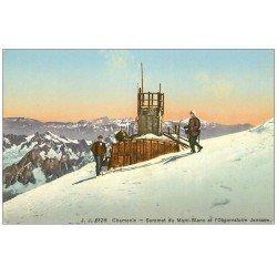 carte postale ancienne 74 CHAMONIX. Observatoire Janssen