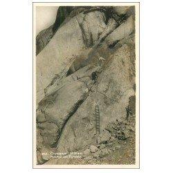 carte postale ancienne 74 CHAMONIX. Passage Egralets. Alpinisme et Ascension