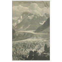 carte postale ancienne 74 CHAMONIX-MONT-BLANC. Mer de Glace vers 1900