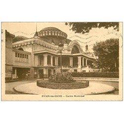 carte postale ancienne 74 EVIAN-LES-BAINS. Casino Municipal