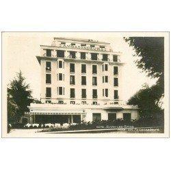 carte postale ancienne 74 EVIAN-LES-BAINS. Hôtel des Ambassadeurs. Carte Photo