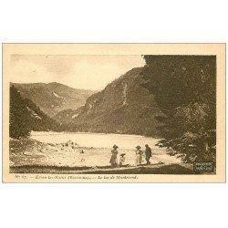 carte postale ancienne 74 EVIAN-LES-BAINS. Lac de Montriond. Collection Source Cachat