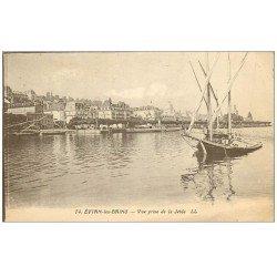 carte postale ancienne 74 EVIAN-LES-BAINS. Vue de la Jetée 1929