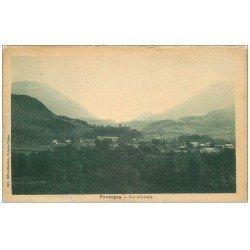 carte postale ancienne 74 FAVERGES. Vue générale 1926