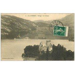 carte postale ancienne 74 LAC ANNECY. Duingt Château 1920