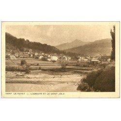 carte postale ancienne 74 LE FAYET. Le Bonnant. Abbaye Mont Joly