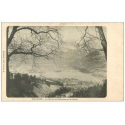 carte postale ancienne 74 LE FAYET. Plaine Sallanches et Aravis vers 1900