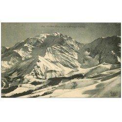 carte postale ancienne 74 LE MONT-BLANC. La Montagne d'Arbois