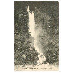 carte postale ancienne 74 SAINT-GERVAIS-LES-BAINS. Le Fayet. Servoz Gorges Diosaz