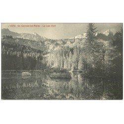 carte postale ancienne 74 SAINT-GERVAIS-LES-BAINS. Le Lac Vert