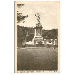carte postale ancienne 74 SAINT-GERVAIS-LES-BAINS. Monument aux Morts