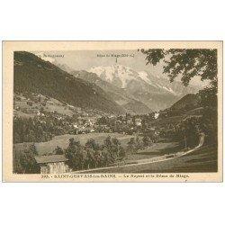 carte postale ancienne 74 SAINT-GERVAIS-LES-BAINS. Neyret et Dôme Miage