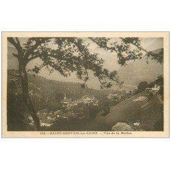 carte postale ancienne 74 SAINT-GERVAIS-LES-BAINS. Vue de la Mollaz