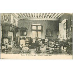 carte postale ancienne 26 CHATEAU DE CONDILLAC. Grand Salon