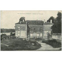 carte postale ancienne 26 CHATEAU DE PIZANCON 1916