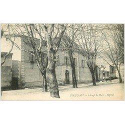 carte postale ancienne 26 DIEULEFIT. Hôpital au Champ de Mars