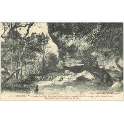 carte postale ancienne 26 GRIGNAN. Grotte de Rochecourbières