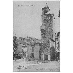 carte postale ancienne 26 GRIGNAN. Le Beffroi