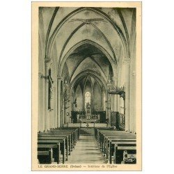 carte postale ancienne 26 LE GRAND SERRE. L'Eglise