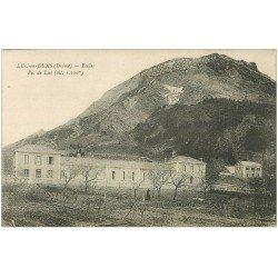 carte postale ancienne 26 LUC-EN-DIOIS. Ecoles et Pic de Luc 1917