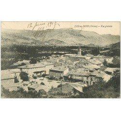carte postale ancienne 26 LUC-EN-DIOIS. Vue du Village 1917