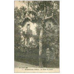 carte postale ancienne 26 MONTELIMAR. Le Chalet du Jardin avec Enfants 1919