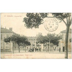carte postale ancienne 26 ROMANS. Caserne Bon 1916