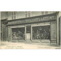 carte postale ancienne 26 ROMANS. Horlogerie Bijouterie des Cordeliers