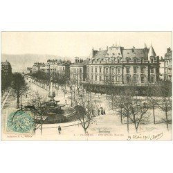 carte postale ancienne 26 VALENCE. Boulevard Bancel en 1903. Collection P.P