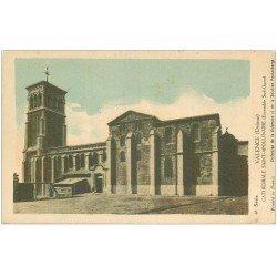 carte postale ancienne 26 VALENCE. Cathédrale Saint-Apollinaire. Carte Notice