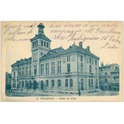 carte postale ancienne 26 VALENCE. Hôtel de Ville et Fabrique de Bijouterie