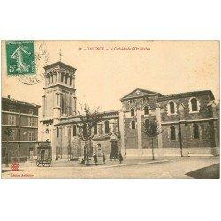 carte postale ancienne 26 VALENCE. La Cathédrale 1913